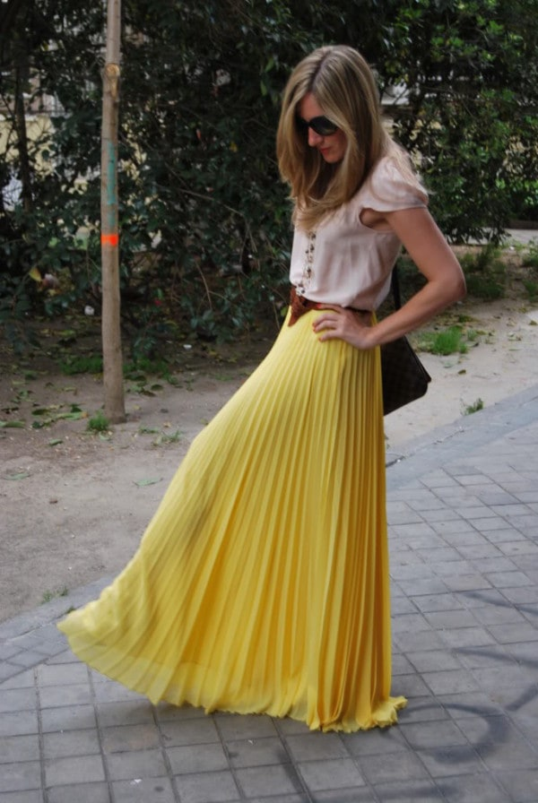 30 Maxi Skirts And Maxi Dresses For This Season