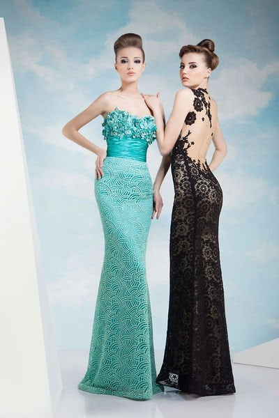 Beautiful Evening Dresses for Spring/Summer 2014 by Tony Chaaya