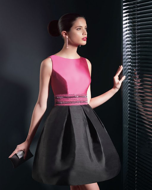 TWO FIESTA COCKTAIL DRESSES BY ROSA CLARA