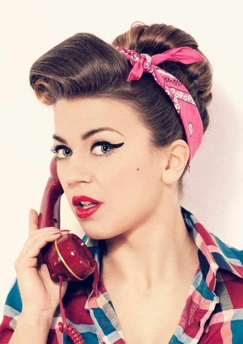 Cute Retro Hairstyles For Fashion Girl