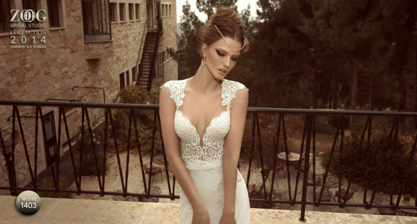 Beautiful wedding dresses by Zoog studio