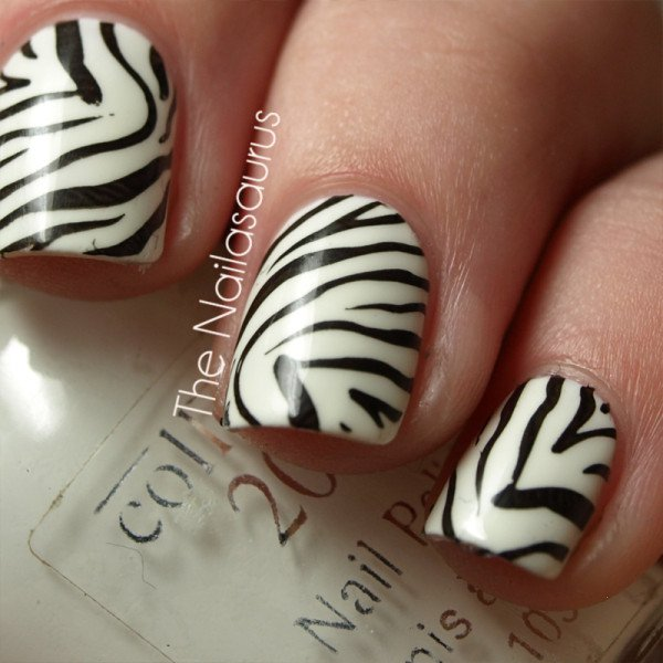 Fantastic Animal Print Nail Art Designs