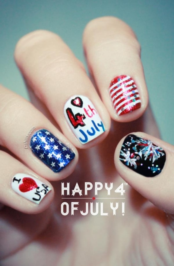 The Best 4th of July Nails