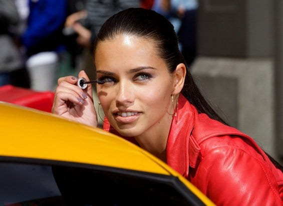Adriana Lima   the face of Maybelline