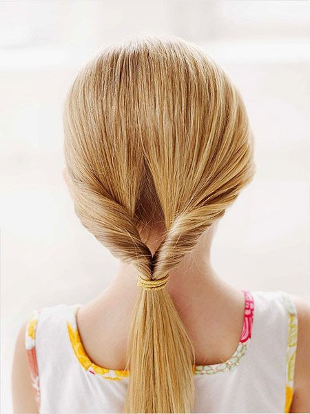 Trendy Long Hairstyles For School Girls