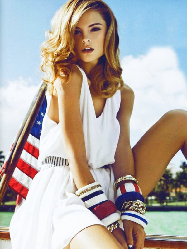 Brilliant Fashion Combinations In The Spirit Of 4th Of July