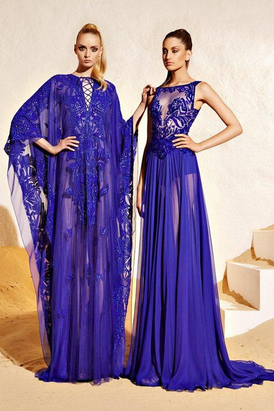 Safari style and romantic elegance from Zuhair Murad