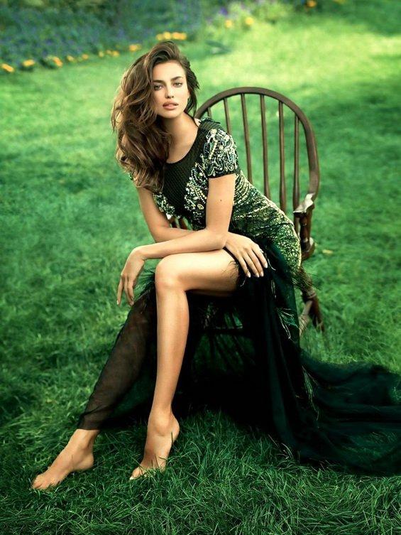 Irina Shayk for Cosmopolitan China