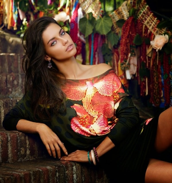 Adriana Lima for Desigual