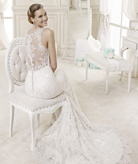 48 STUNNING WHITE WEDDING DRESSES FROM NICOLE INSPIRED BY AUDREY HEPBURN   PART 1