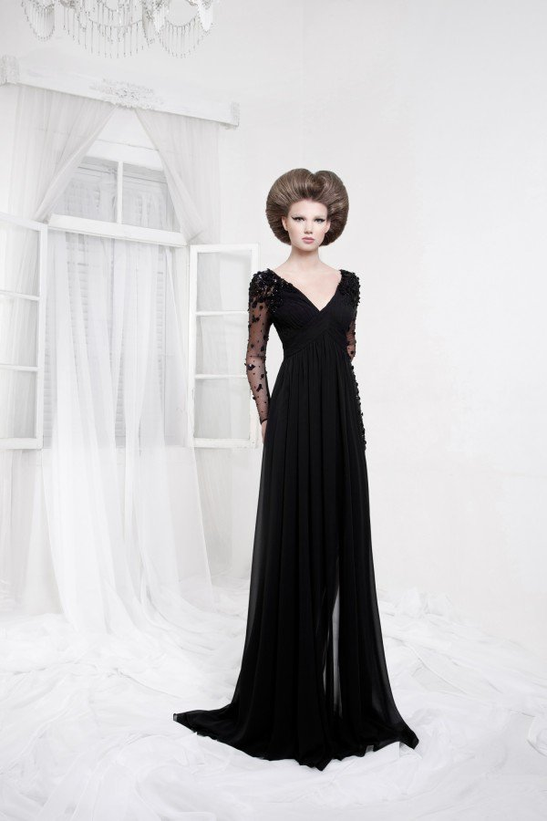 SLEEK AND MODERN EVENING DRESSES FROM TAREK SINNO FOR THIS FALL