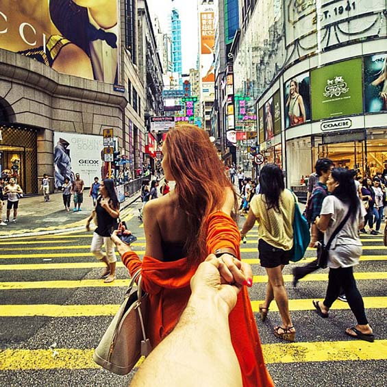 Fashionable Girl on An Endless Journey Around The World   Part 1