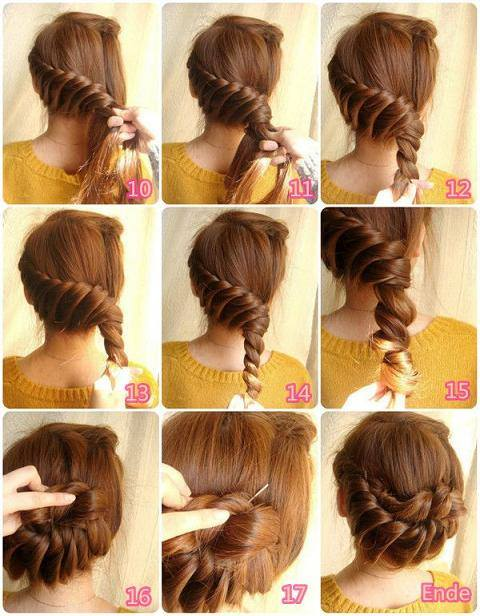 how to do different hair style 9 step by step beautiful hairstyles 9008