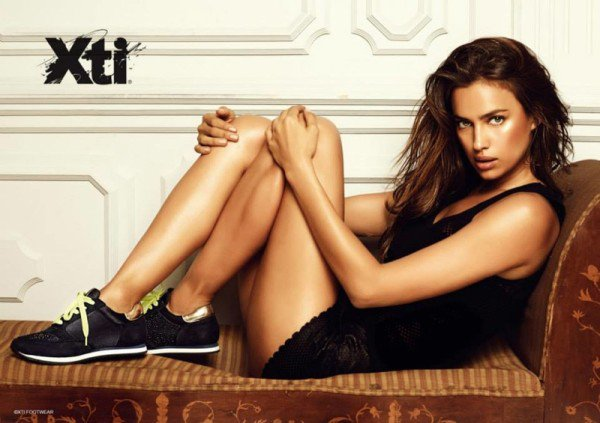 Irina Shayk is sexy Cat in Boots in the winter campaign of XTIs