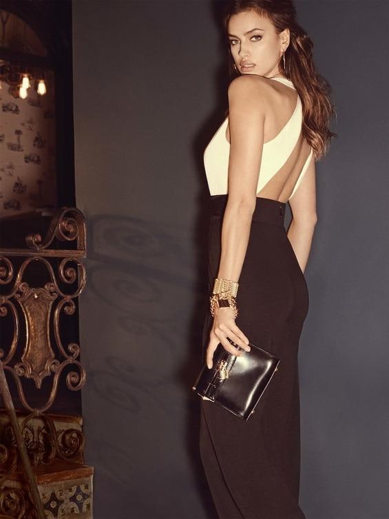 Irina Shayk Is A Modern Lady For Bebe