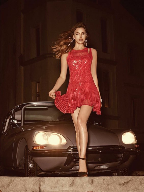 Irina Shayk Is A Modern Lady For Quot Bebe Quot