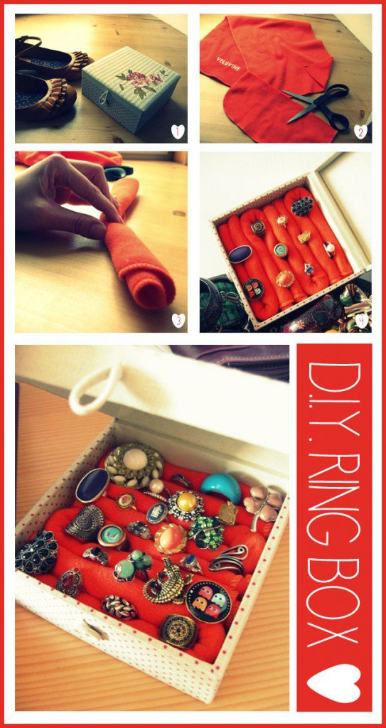 Awesome DIY Storage Ideas For Your RIngs