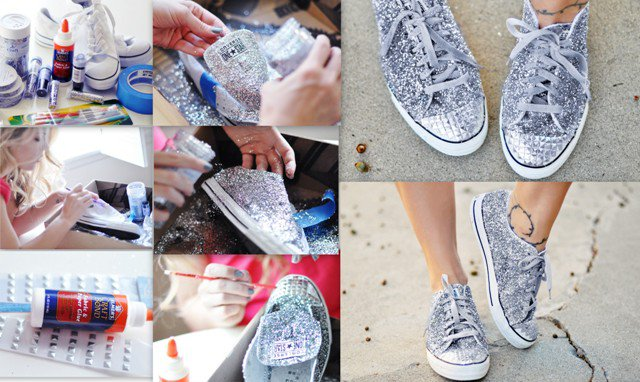 20 Amazing DIY Sneakers Makeover Ideas 05827a02c79