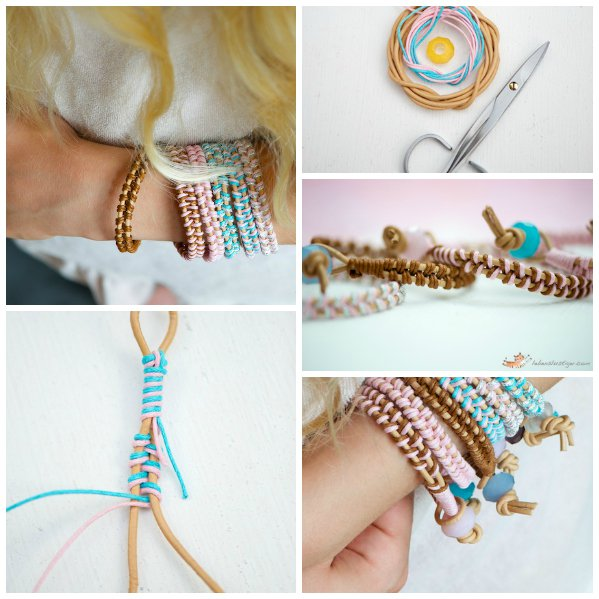 Beaded bracelet tutorial easy