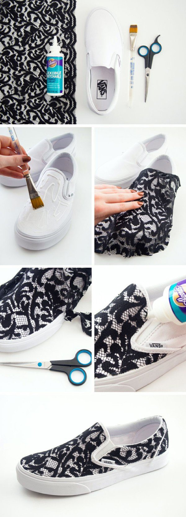 20 amazing diy sneakers makeover ideas splendid shoe makeover 20 amazing diy solutioingenieria Image collections