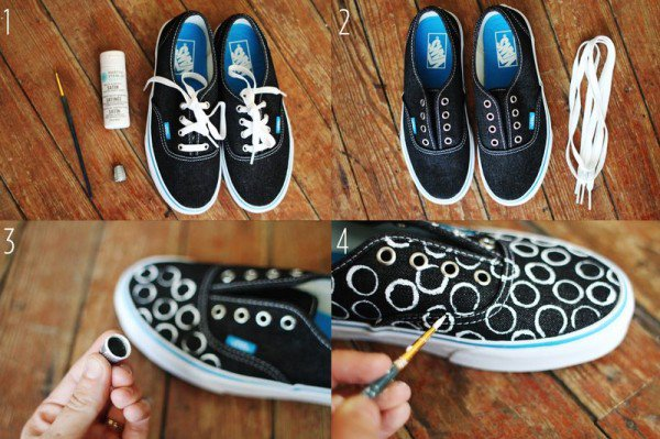 20 amazing diy sneakers makeover ideas solutioingenieria Image collections