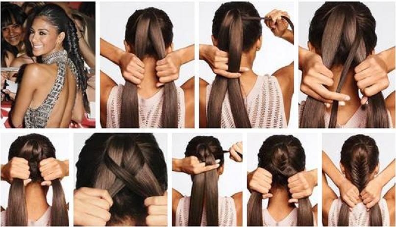 Бант для волос своими руками мастер класс