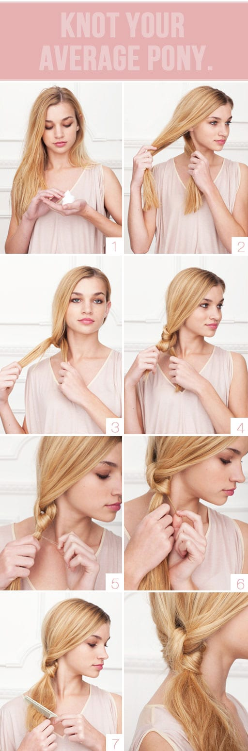 Do It Yourself   Trendy Braided Hairstyle