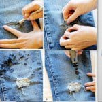 15 Easy DIY Hacks To Transform Your Old Jeans Into Trendy Fashion Piece