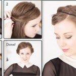 17 einfache DIY Tutorials für glamouröse und niedliche Frisur