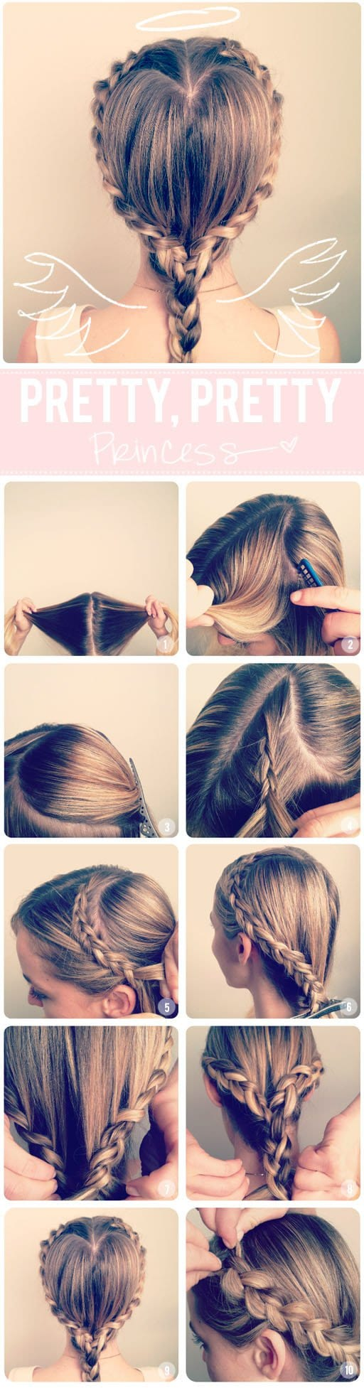 Do It Yourself   10 Braided Hairstyles For a New Romantic Look