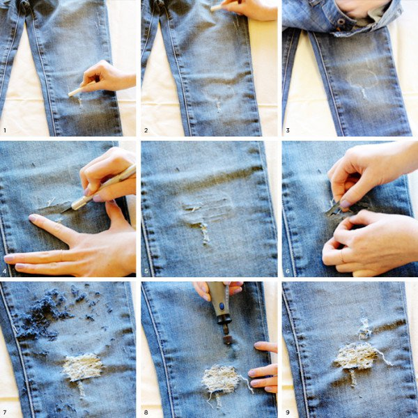 Truly awesome diy ideas to renew your old jeans solutioingenieria Gallery