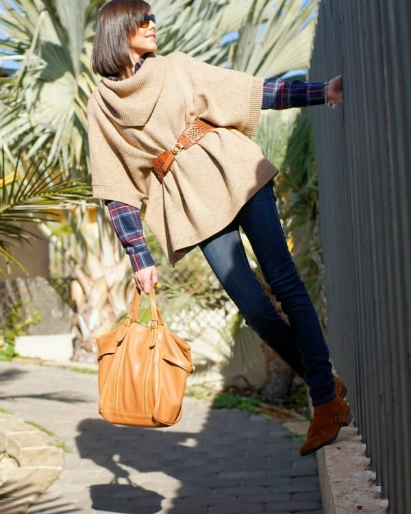 Womens Ponchos   Hit For This Fall