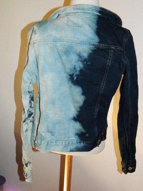 Blue Jeans Black Jacket Ladies