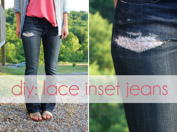 10 Cool DIY Denim Jeans Project