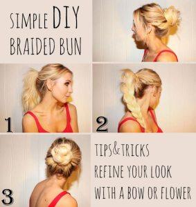 10 besten und glamourösen Brötchen Frisur Ideen, die Sie machen müssen