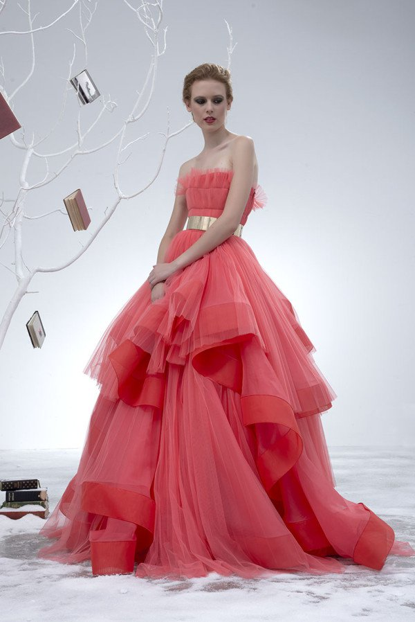 46 Unique And Magnificent Dresses From The New Collection of ISABEL SANCHIS 2015