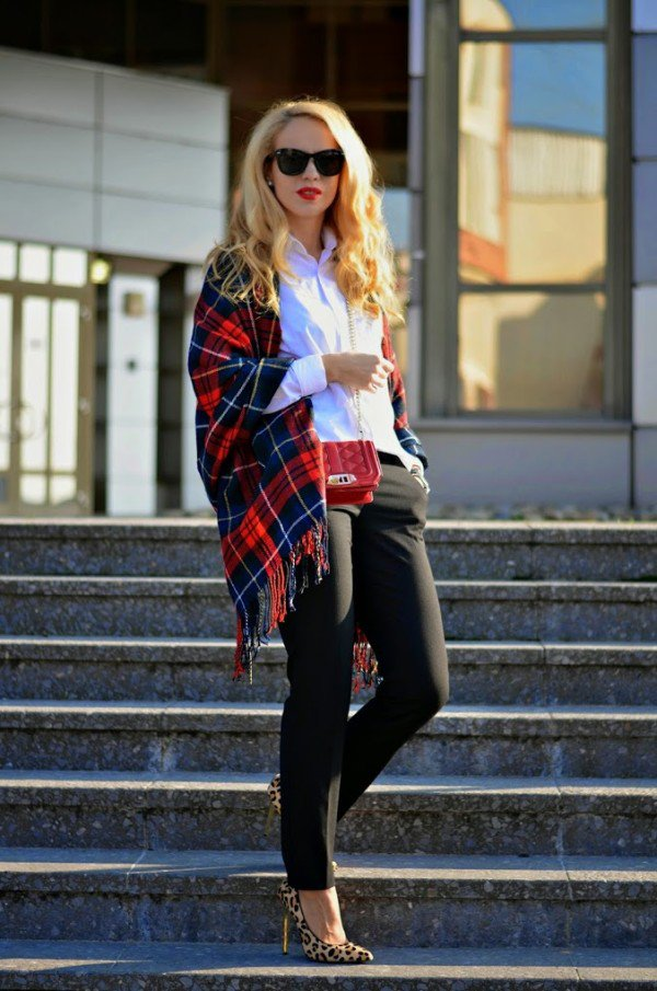 Plaid Is Back In Style   17 Great Fashion Combinations With Plaid