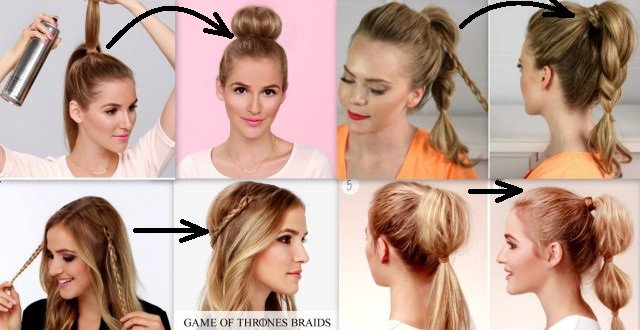 14 Cute And Easy Ways To Create Awesome Hairstyle For Less Than 2