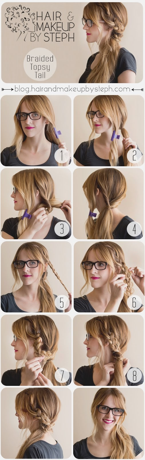 14 Simple And Easy Lazy Girl Hairstyle Tips That Are Done For Less ...