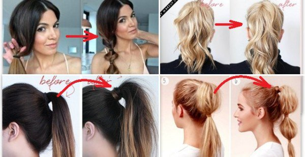 Marvelous 21 Super Easy But Amazing Ponytail Hairstyles That Will Save Your Natural Hairstyles Runnerswayorg