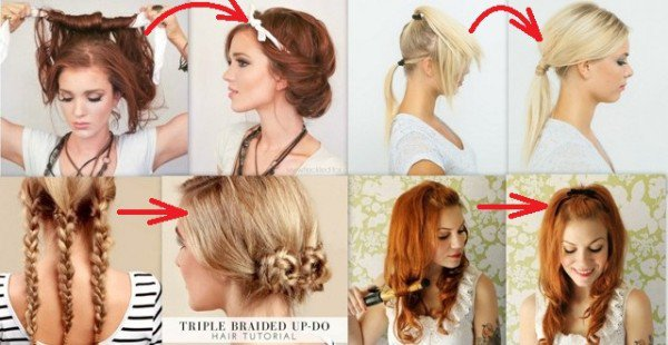 15 Lazy Girls Hairstyle Tips And Tricks That Can Be Done In ...