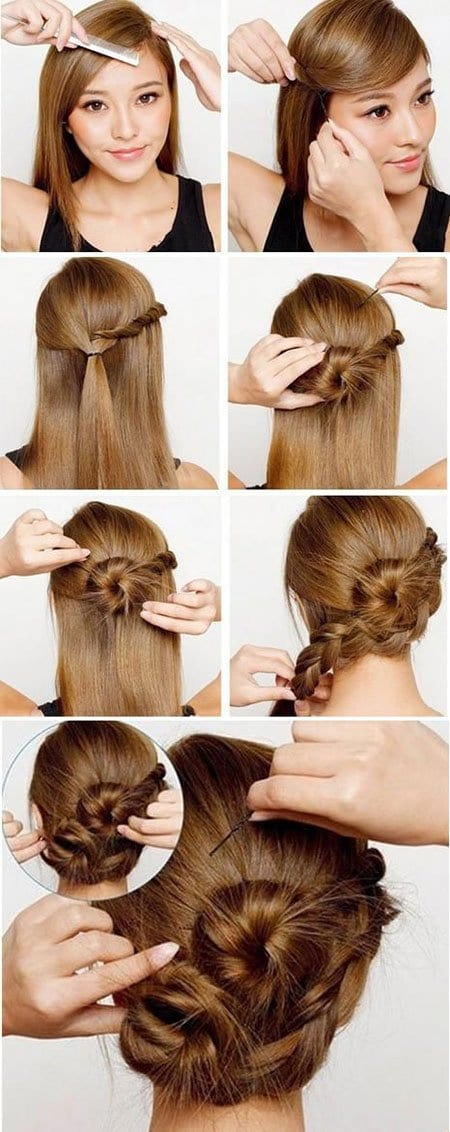 15 Lazy Girls Hairstyle Tips And Tricks That Can Be Done