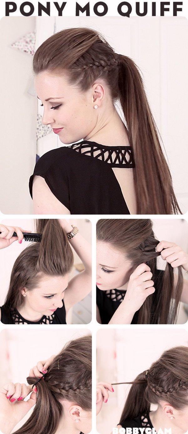 15 faule Mädchen Frisur Tipps und Tricks, die in wenigen Minuten erledigt werden können