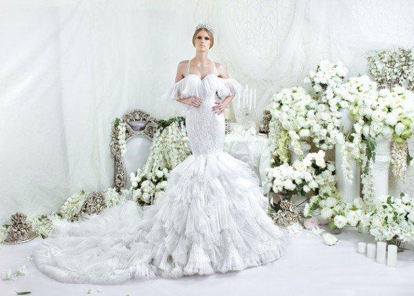 Luxury & Glamour Wedding Dresses By Dar Sara