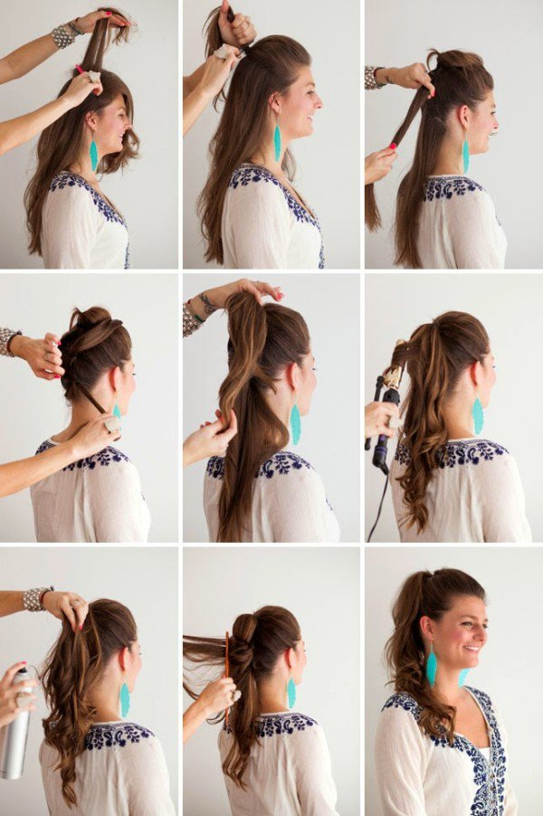21 Super Easy But Amazing Ponytail Hairstyles That Will Save Your