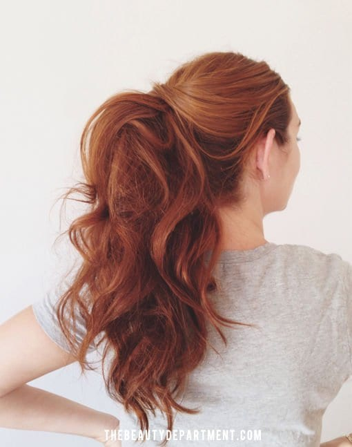 21 Super Easy But Amazing Ponytail Hairstyles That Will Save Your ...