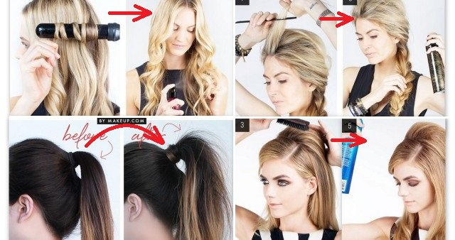 16 Fast Clever Hairstyle Hacks That Every Girls Must Know