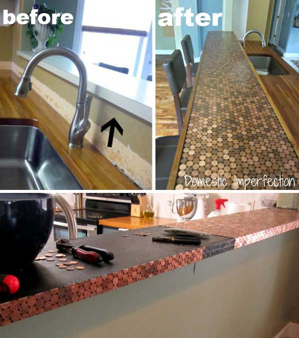 17 Lovely, Spectacular DIY Hacks You Could Do Using Pennies