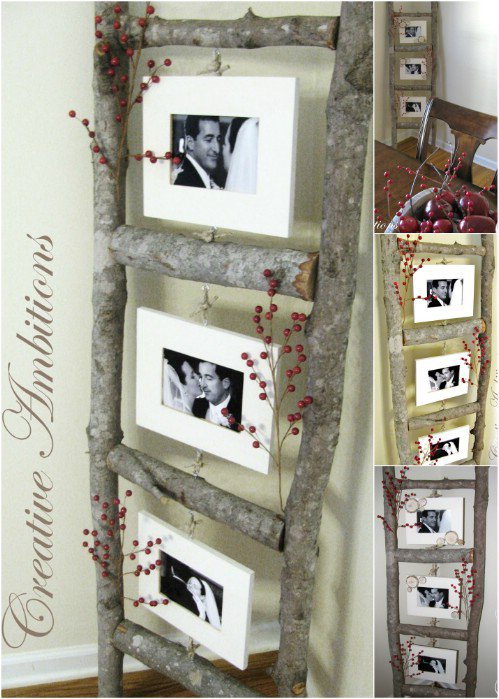 16 Super Clever DIY Ways To Display Your Lovely Photos And Make Unique Home Decoration