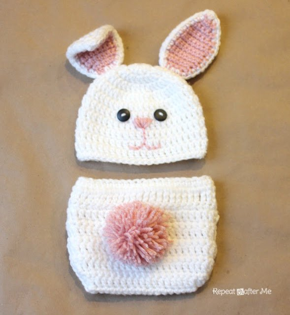 Make A Cute Baby Beanie With Bunny Ears For Your Cutest Loved Ones